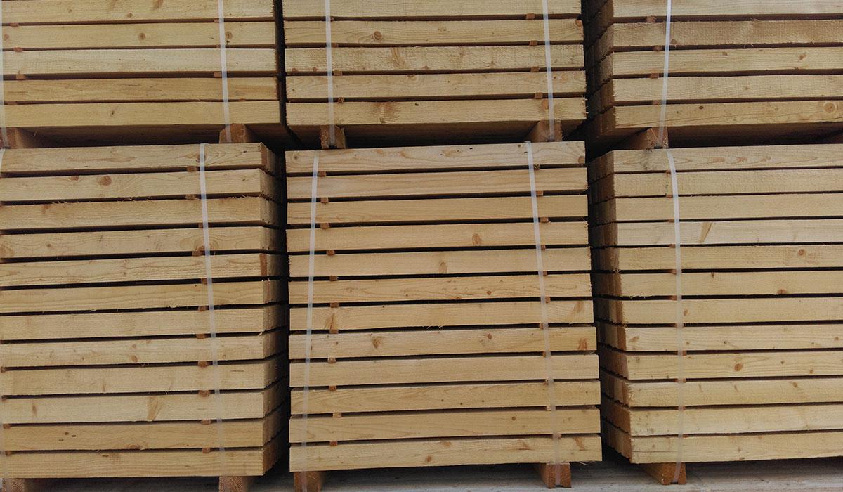 Kantholz Solida Holz GmbH