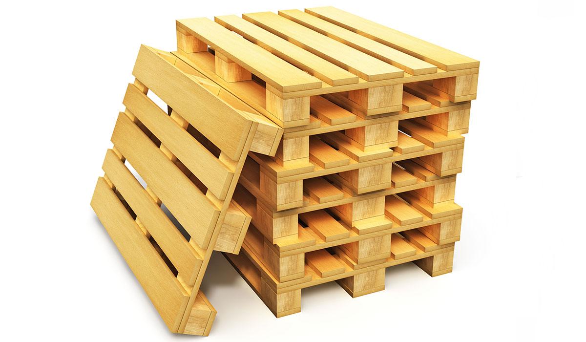 Paletten der Solida Holz GmbH